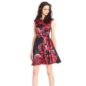 Donna Morgan Women's  Dupioni Fit&Flare Dress 6